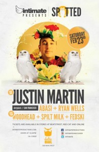 Spotted Saturdays feat. Justin Martin
